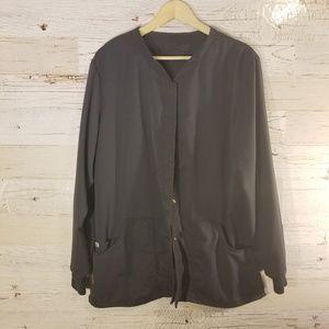 Grey's Anatomy long sleeve scrub jacket